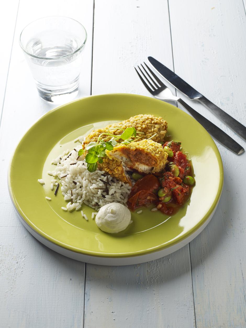 Mexicana-kalaa ja tomaattimuhennosta